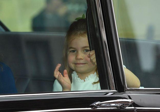L'arrivée de la princesse Charlotte