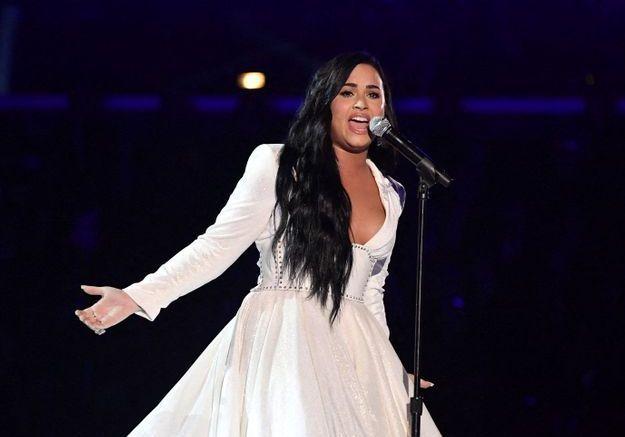 Grammy Awards 2020 : Demi Lovato en larmes pour son grand retour sur scène