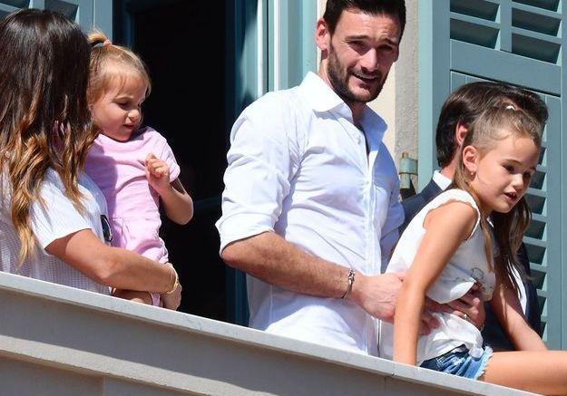 Hugo Lloris et ses filles