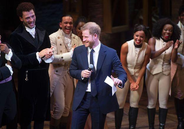 La danse du prince Harry !
