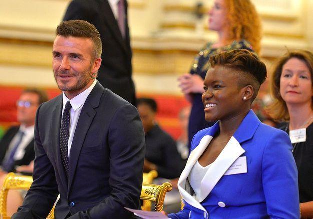 David Beckham et Nicola Adams