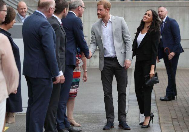 Harry et Meghan se sont ensuite allés au stade de Croke Park