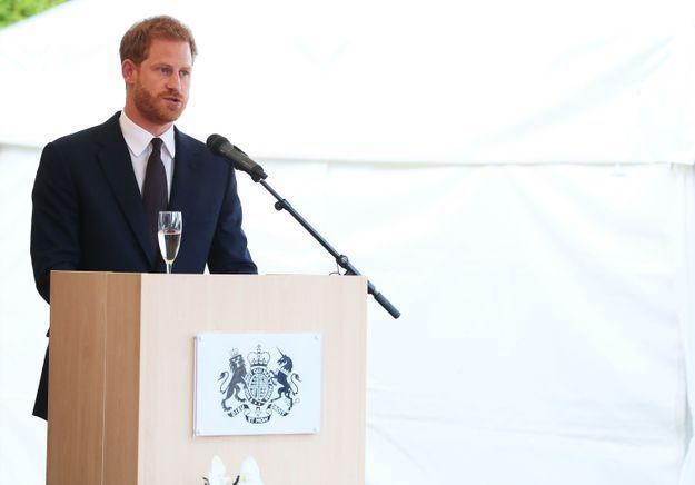 Le prince Harry a fait un discours au cours de la soirée