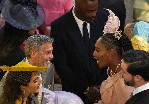 Avec Serena Williams dans la chapelle Saint George