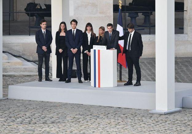Hommage à Jean-Paul Belmondo : l'émouvant discours de son petit-fils, Victor