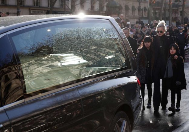 Hommage à Johnny Hallyday : l'immense douleur de Laeticia