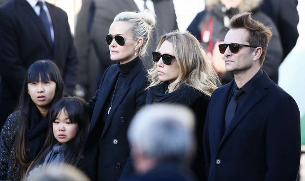 La famille de Johnny Hallyday