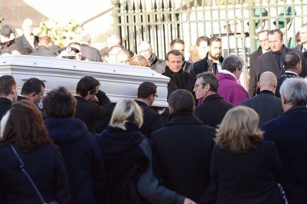 Le cercueil de Johnny Hallyday