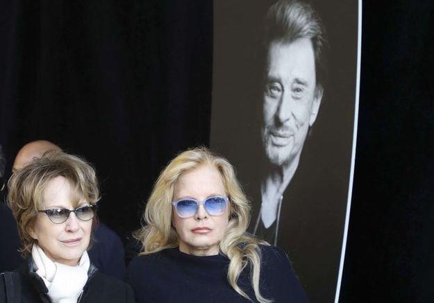Nathalie Baye et Sylvie Vartan