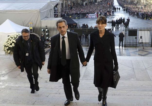 Nicolas Sarkozy et Carla Bruni Sarkozy