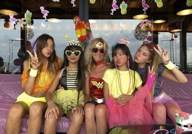 Pour les anniversaires de Jade et Joy, Laeticia Hallyday avait organisé une fête costumée