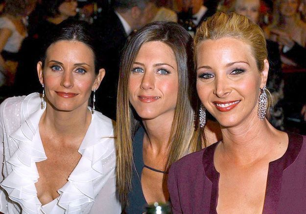 Jennifer Aniston, Courteney Cox et Lisa Kudrow : une soirée entre Friends
