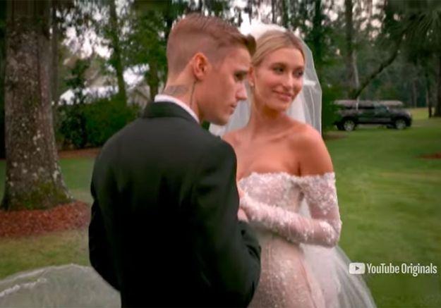 Justin Bieber et Hailey Baldwin : la vidéo inédite de leur mariage dévoilée