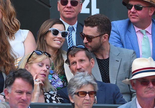 Justin Timberlake et Pippa Middleton : les stars des tribunes de Wimbledon