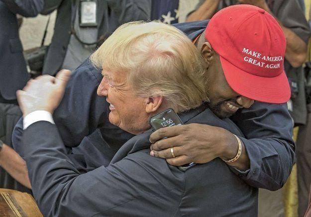 Kanye West et Donald Trump : une bromance entre illuminés