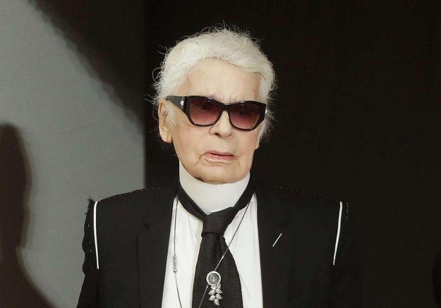 Karl Lagerfeld ne ressemble plus à ça !