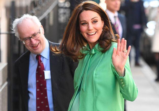 Kate Middleton : dernier look de grossesse chic avant son congé maternité