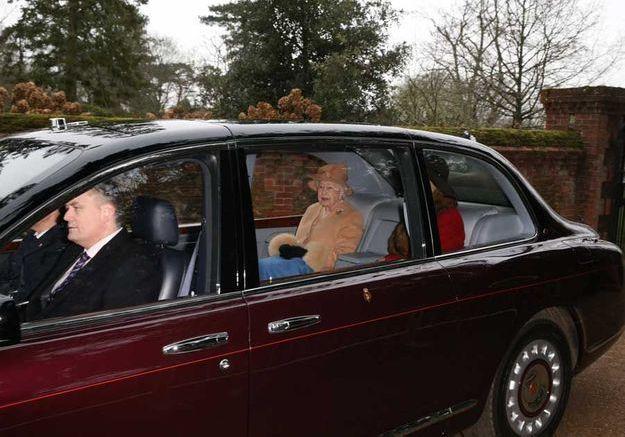 L'arrivée de la reine