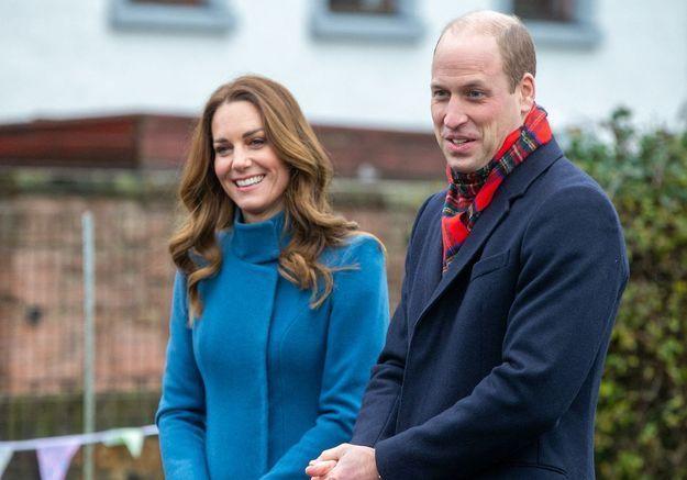 Kate Middleton et le prince William dévoilent officiellement leur carte de vœux