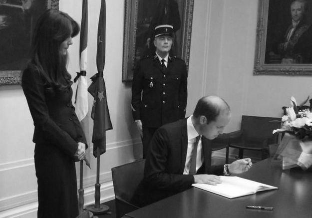 Kate Middleton et le prince William : leur message aux Parisiens