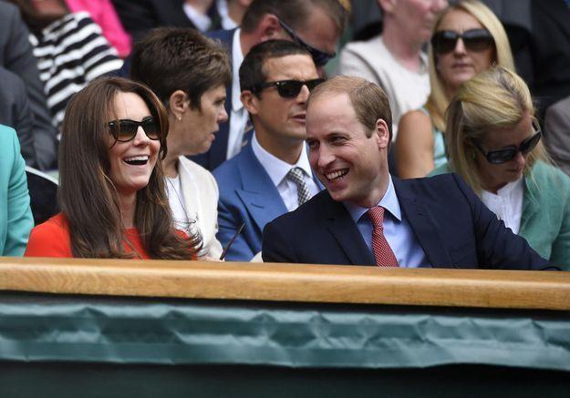 Kate Middleton et le prince William s'offrent un court de tennis