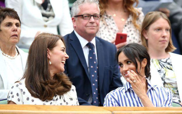 Meghan Markle et Kate Middleton, un duo très complice