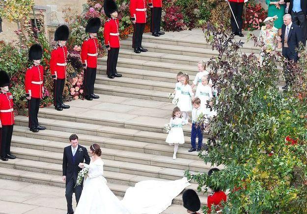 Royal wedding vu du ciel
