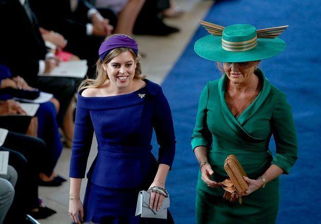 Sarah Ferguson et la princesse Beatrice