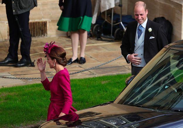 L'arrivée de Will et Kate