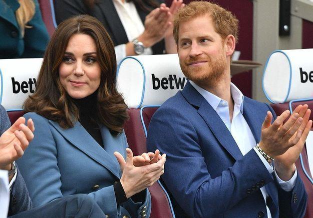 Kate Middleton récupère deux titres du prince Harry