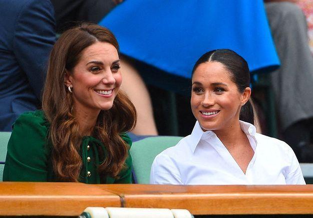 Kate Middleton vole au secours de Meghan Markle