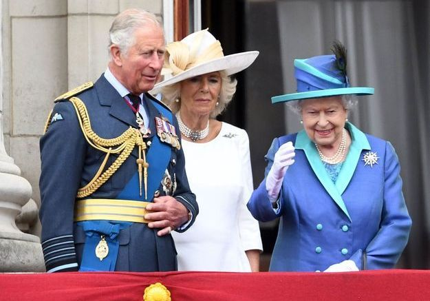 Le prince Charles, Camilla Parker-Bowles et la reine Elizabeth II
