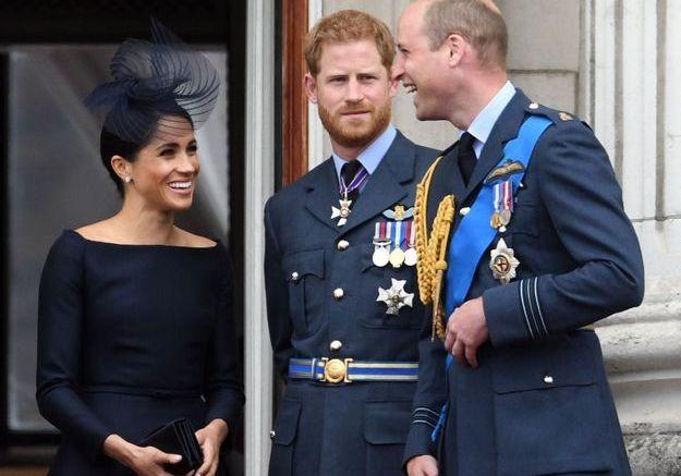 Meghan Markle, le prince Harry et le prince William