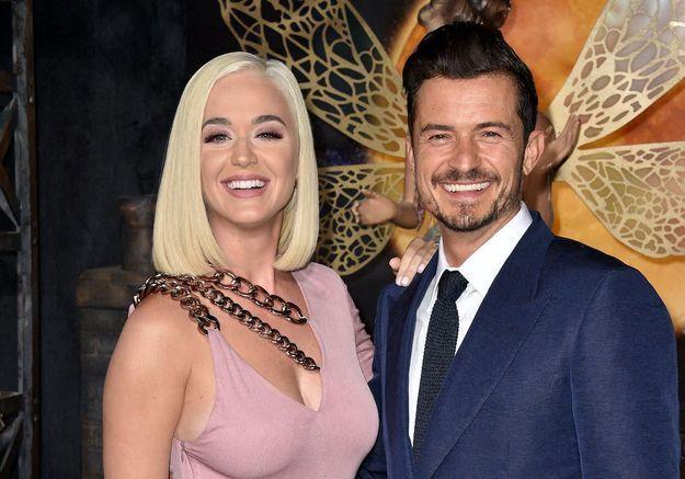 Katy Perry et Orlando Bloom prennent un gros coup de vieux pour inciter les Américains à aller voter