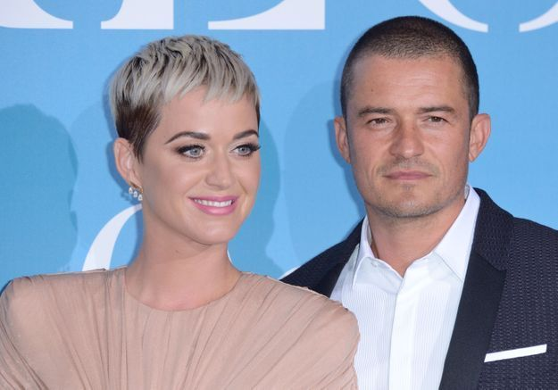 Katy Perry et Orlando Bloom se sont fiancés