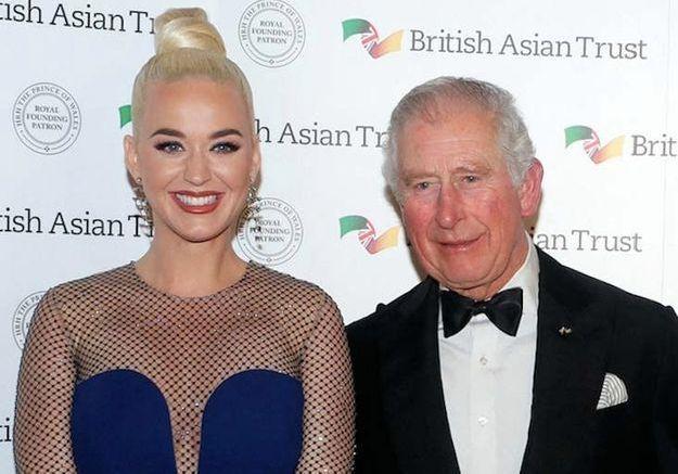 Katy Perry honorée par le prince Charles : découvrez leur projet commun