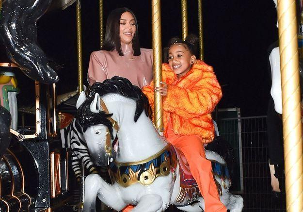 Kim Kardashian célèbre les 7 ans de sa fille North West en images