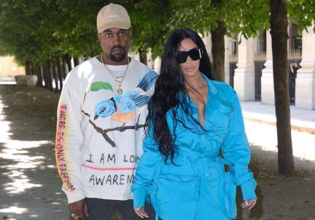 Kim Kardashian et Kanye West toujours très soudés : elle se rend à la deuxième écoute de son album