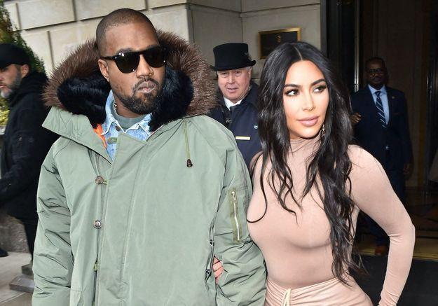 Kim Kardashian et Kanye West vivraient « des vies séparées »