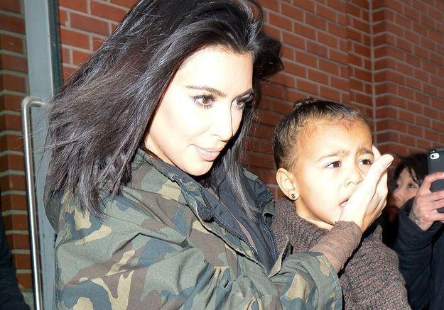 Kim Kardashian et sa fille victimes d'un accident de la route