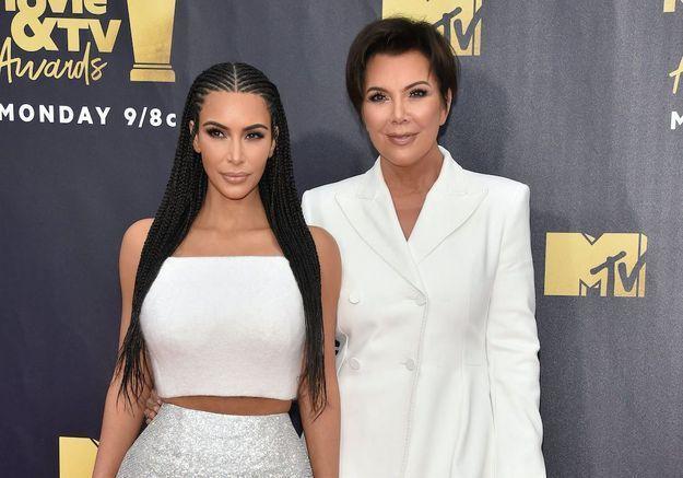 Kim Kardashian : le conseil de sa mère, Kris Jenner, pour surmonter son divorce