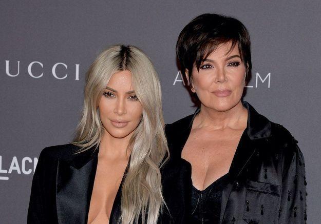 Kris Jenner donne son avis sur le divorce de Kim Kardashian et Kanye West
