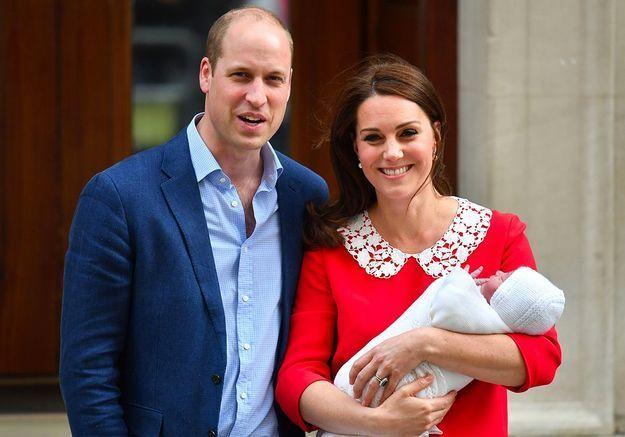 La première sortie du royal baby numéro 3