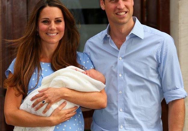 La naissance du prince George