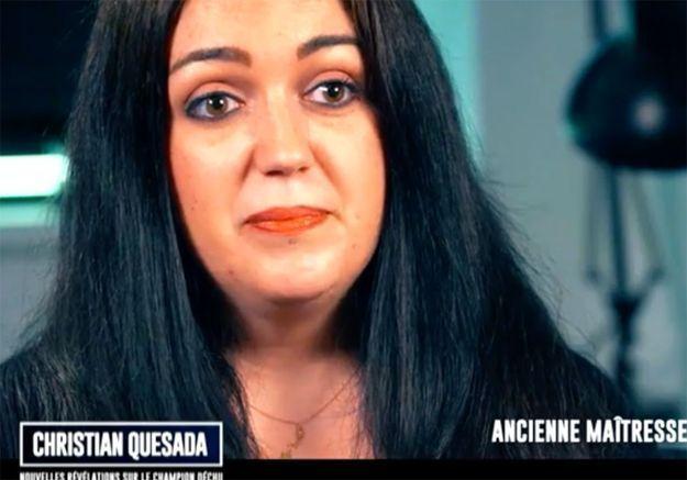 L'ex de Christian Quesada témoigne : « je viens chez toi, je mets le feu, tout va cramer »