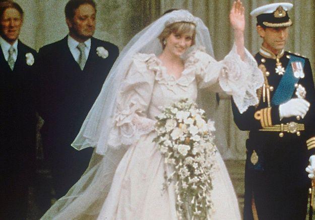 L'histoire de la deuxième robe de mariée secrète de Lady Diana