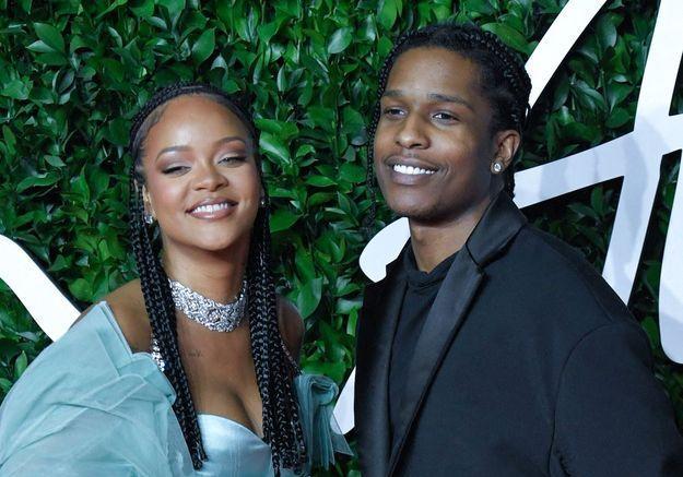 La jolie déclaration d'amour d'A$AP Rocky à Rihanna