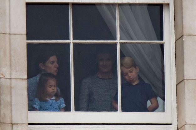 La princesse Charlotte a enchaîné les grimaces et les moues boudeuses