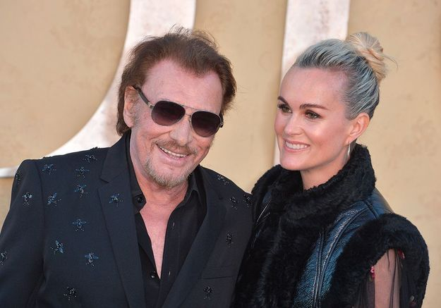 Laeticia Hallyday poste une photo touchante de Johnny et sa petite fille Emma Smet