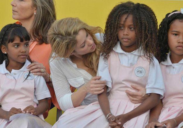 Le combat de Shakira pour les enfants colombiens